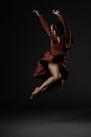 Crystal Michelle Perkins, DCDC Associate Artistic Director. Photo Credit: Scott Robbins